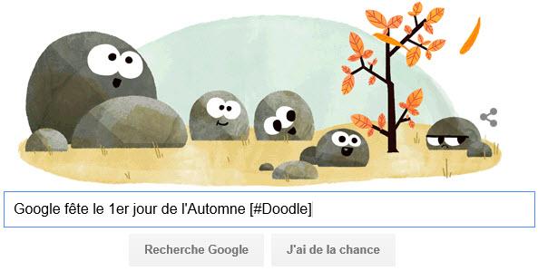 Google fête le 1er jour de l'Automne [#Doodle]