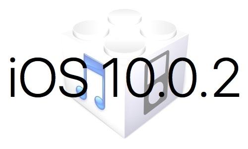 L'iOS 10.0.2 est disponible au téléchargement [liens directs]