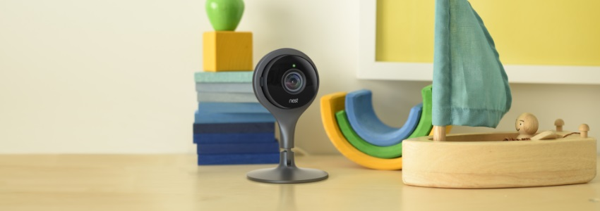 nest cam une cam ra de surveillance connect e et efficace test unsimpleclic. Black Bedroom Furniture Sets. Home Design Ideas