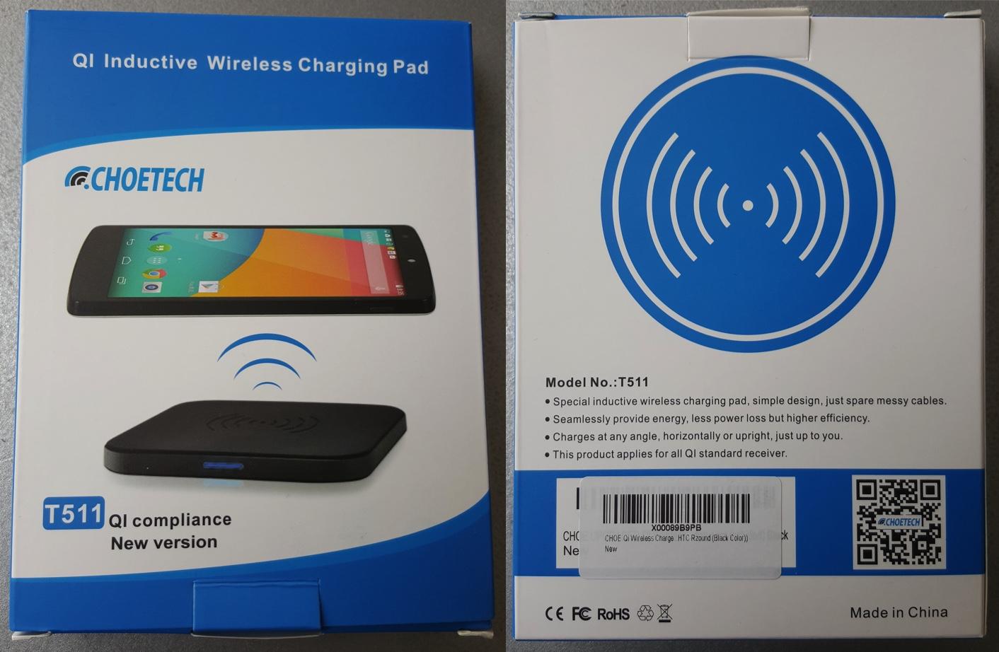 Choetech T511, un chargeur sans fil Qi pratique et très performant [Test]