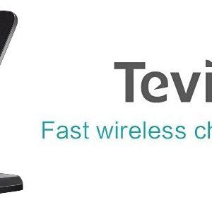 Chargeur sans fil Tevina : un chargeur à induction acceptant les smartphones en mode portrait et paysage [Test]