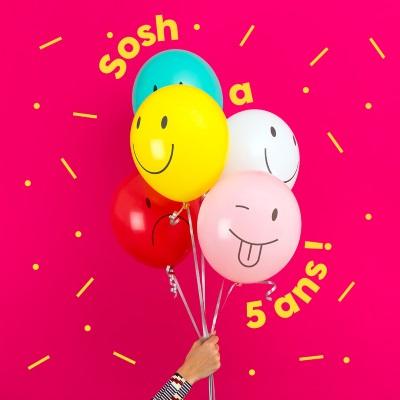 Sosh : l'opérateur fête ses 5 ans avec plein de cadeaux dont 20Go à tous ses abonnés