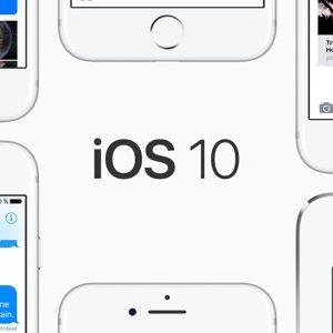 L'iOS 10 est maintenant installé sur plus de 2/3 des appareils Apple