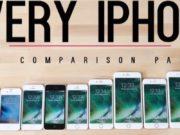 Le comparatif des 15 iPhone en vidéo