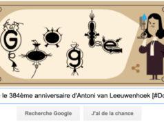 Google fête le 384ème anniversaire d'Antoni van Leeuwenhoek [#Doodle]