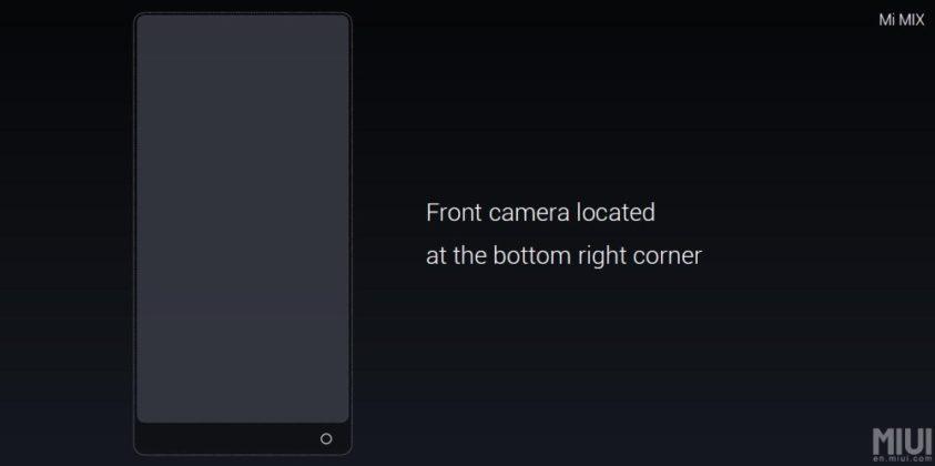 Xiaomi lève le voile sur le Xiaomi Mi Mix, un smartphone bluffant et innovant