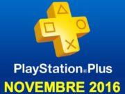 Playstation Plus : les jeux offerts du mois de novembre 2016