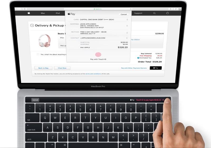 Le nouveau MacBook Pro avec Touch ID