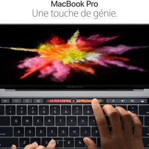 Apple lève le voile sur le MacBook Pro 2016