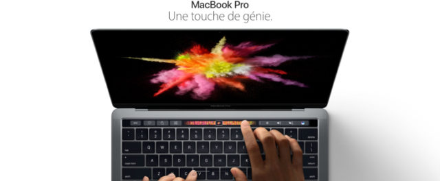 Apple lève le voile sur le MacBook Pro 2016
