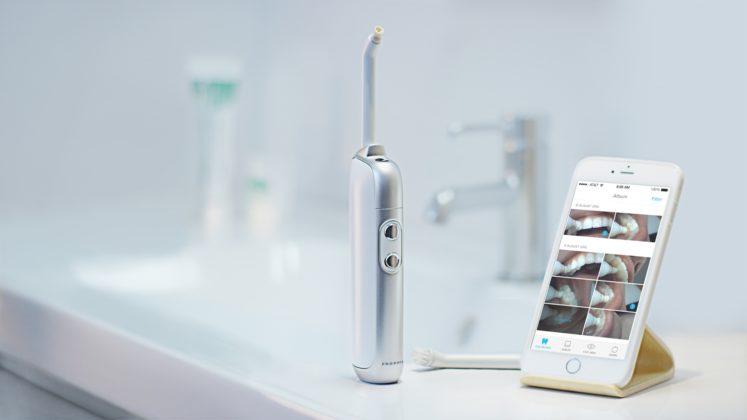Onvi Prophix : la brosse à dents connectée qui filme votre bouche