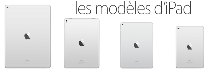 Apple : vers un lancement de trois modèles d'iPad au printemps ?
