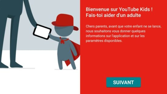 Lancement de YouTube Kids en France
