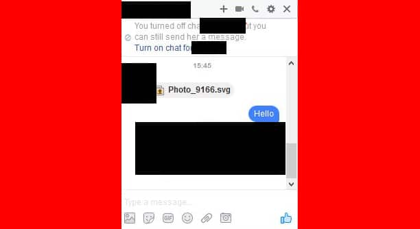 Attention, un nouveau virus se balade sur Facebook Messenger via une image .svg