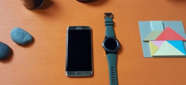 Découverte de la Samsung Gear S3