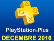 Playstation Plus : les jeux offerts du mois de décembre 2016