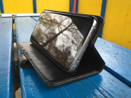 Etui portefeuille Olixar pour Samsung Galaxy S7 Edge [Test]