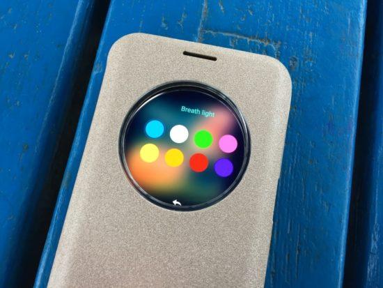 Housse Nillkin Sparkle Big View Window pour Galaxy S7 Edge [Test]