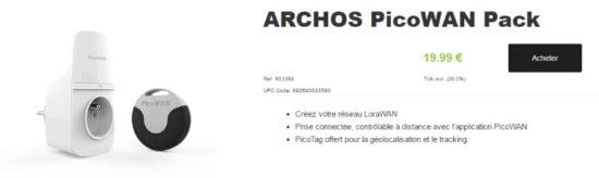 Archos commercialise son PicoWAN et lance son réseau dédié aux objets connectés