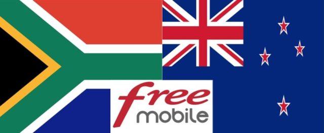#FreeMobile : le roaming depuis la Nouvelle-Zélande et l'Afrique du Sud maintenant inclus