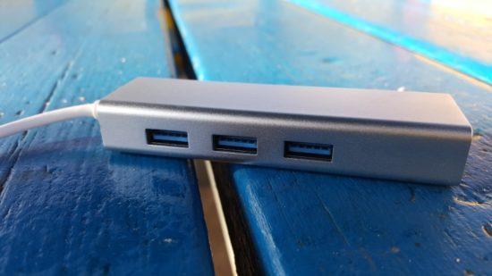 Test de l'adaptateur USB3.0 / Ethernet Gigabit de chez Badalink