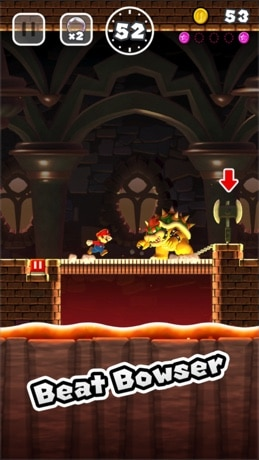 Super Mario Run est disponible sur l'App Store pour iPhone et iPad
