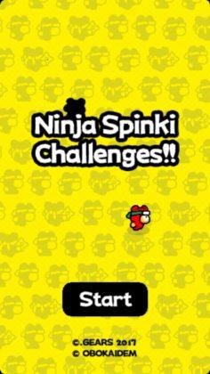 Le créateur de Flappy Bird revient avec le jeu Ninja Spinki Challenges
