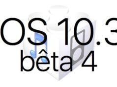 L'iOS 10.3 bêta 4 est disponible pour les développeurs