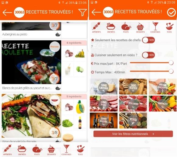 4 Applications Pour Cuisiner A Partir Des Ingredients De Votre