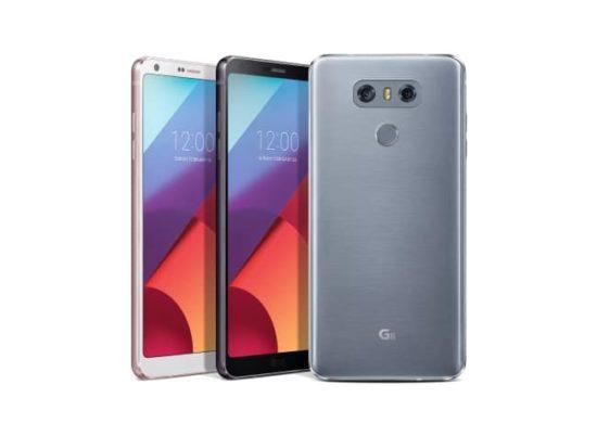 #MWC2017 - LG officialise son LG G6 offrant un écran borderless