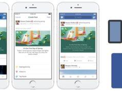Facebook propose la météo ainsi qu'une animation lors des changements de saison