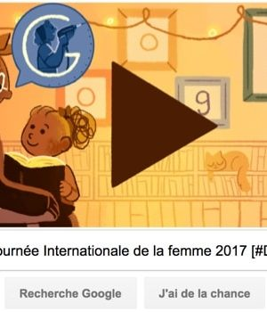 Google fête la Journée Internationale de la femme 2017 [#Doodle]