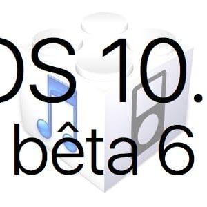 L'iOS 10.3 bêta 6 est disponible pour les développeurs