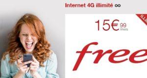 Free dévoile le 1er forfait 4G illimité en France