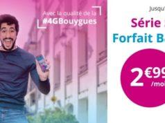 Le forfait B&You 20Go est à 2,99€/mois jusqu'au 28 mars 2017