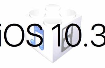 L'iOS 10.3 est disponible au téléchargement [liens directs]