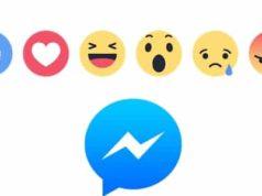 Facebook teste les réactions dans FB Messenger
