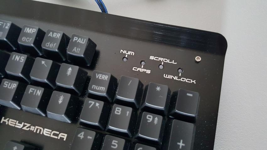 The g lab keyz meca un clavier m canique fran ais r ussi for Les parties du clavier