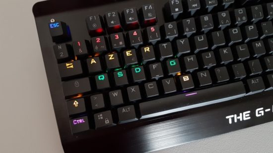 The G-Lab Keyz Meca : un clavier mécanique français réussi
