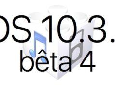 L'iOS 10.3.2 bêta 4 est disponible pour les développeurs