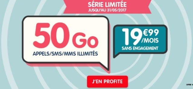 EI Telecom lance plusieurs offres : 50Go chez NRJ Mobile et 100Go chez CIC Mobile et Crédit Mutuel Mobile