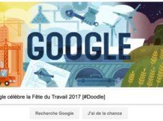 Google célèbre la Fête du Travail 2017 [#Doodle]