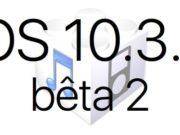 L'iOS 10.3.3 bêta 2 est disponible pour les développeurs