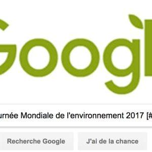 Google célèbre la Journée Mondiale de l'environnement [#Doodle]