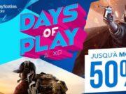 Days of Play : à l'approche de l'E3, Playstation fait le plein de promos