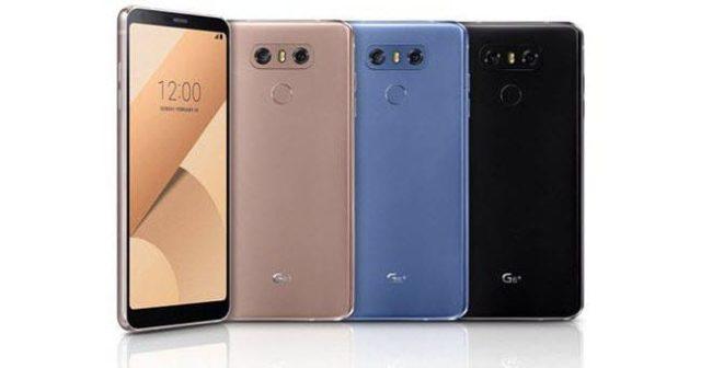 Retour sur LG G6+