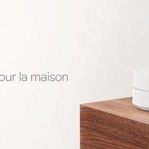 Le routeur Google Wifi est maintenant disponible en France