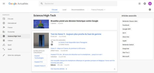 Google Actualités fait peau neuve