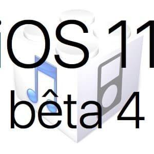 L'iOS 11 bêta 4 est disponible pour les développeurs