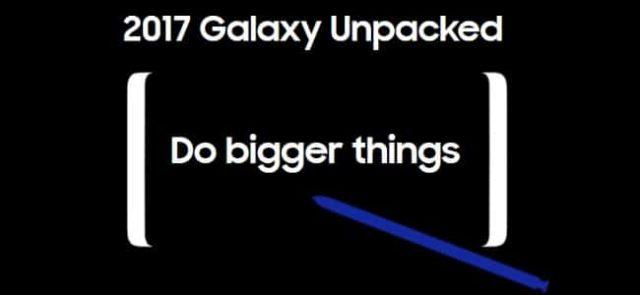 Comment suivre la conférence Galaxy Unpacked dédiée au Note 8 ?
